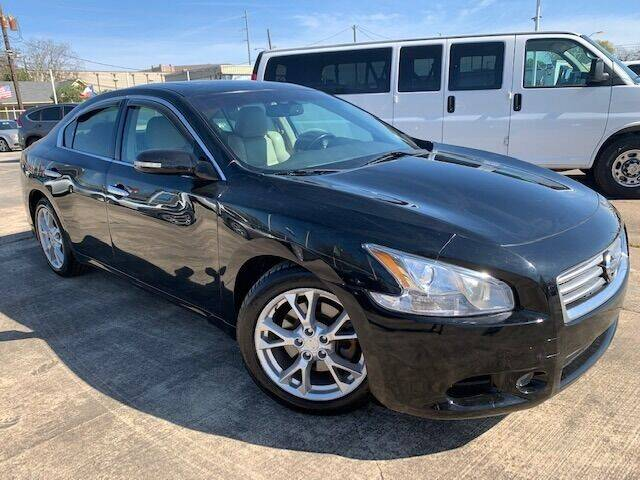 2013 Nissan Maxima for sale at Sam's Auto Sales in Houston TX