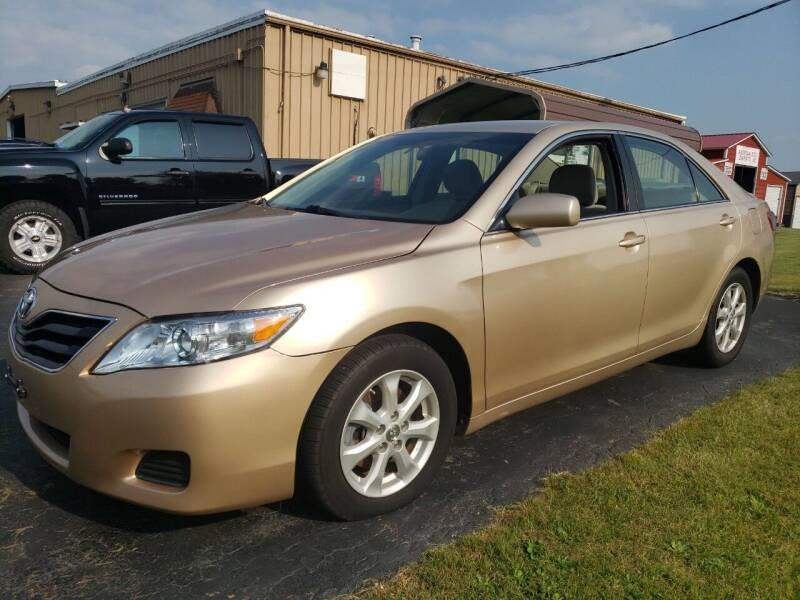 2011 Toyota Camry for sale at Tumbleson Automotive in Kewanee IL
