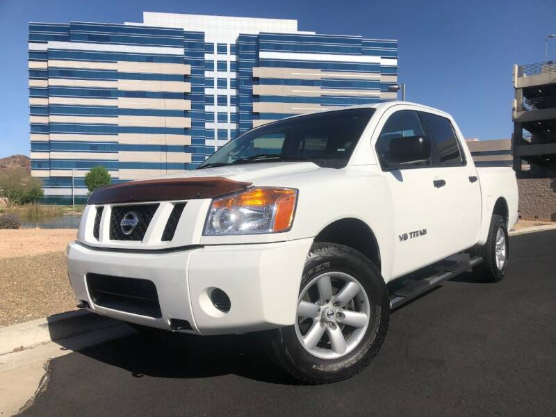 2008 Nissan Titan for sale at Day & Night Truck Sales in Tempe AZ