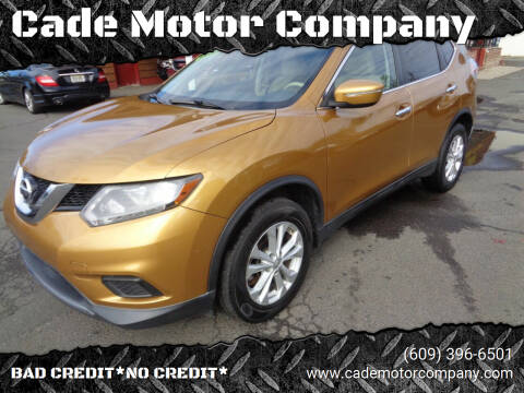 2014 Nissan Rogue for sale at Cade Motor Company in Lawrence Township NJ