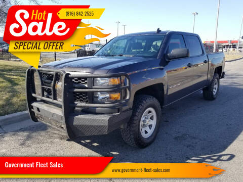2015 Chevrolet Silverado 1500 for sale at Government Fleet Sales in Kansas City MO
