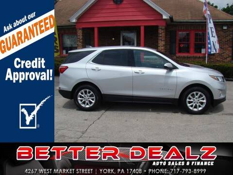 2018 Chevrolet Equinox for sale at Better Dealz Auto Sales & Finance in York PA