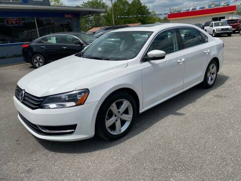 2013 Volkswagen Passat for sale at Wise Investments Auto Sales in Sellersburg IN