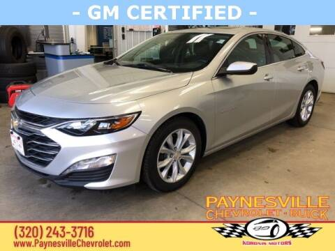 2019 Chevrolet Malibu for sale at Paynesville Chevrolet Buick in Paynesville MN