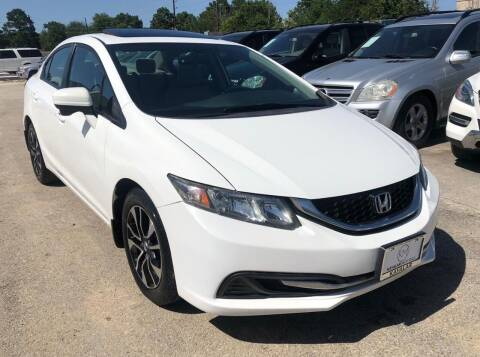 2014 Honda Civic for sale at KAYALAR MOTORS - ECUFAST HOUSTON in Houston TX