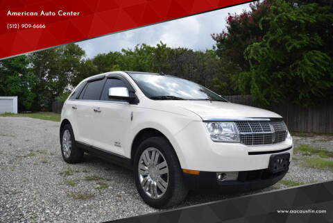 2008 Lincoln MKX for sale at American Auto Center in Austin TX
