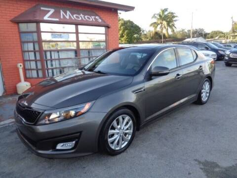 2015 Kia Optima for sale at Z MOTORS INC in Hollywood FL