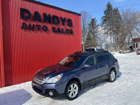 2013 Subaru Outback for sale at Dandy's Auto Sales in Forest Lake MN