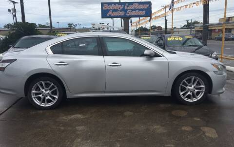 2012 Nissan Maxima for sale at Bobby Lafleur Auto Sales in Lake Charles LA