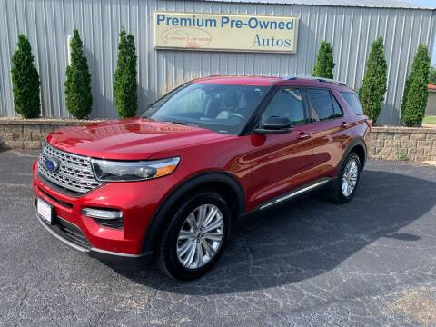 2020 Ford Explorer for sale at PREMIUM PRE-OWNED AUTOS in East Peoria IL