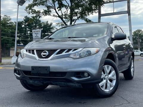 2014 Nissan Murano for sale at MAGIC AUTO SALES in Little Ferry NJ
