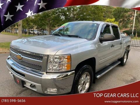 2013 Chevrolet Silverado 1500 for sale at Top Gear Cars LLC in Lynn MA