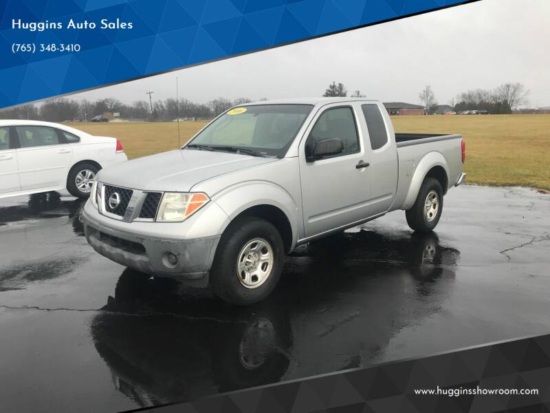 2006 Nissan Frontier for sale at Huggins Auto Sales in Hartford City IN