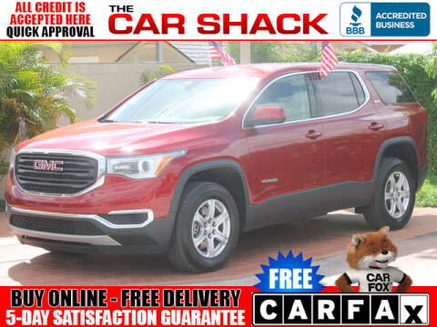 2019 GMC Acadia for sale at The Car Shack in Hialeah FL