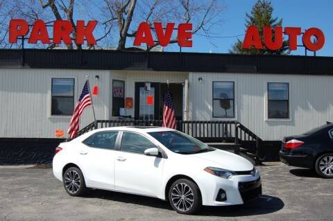 2014 Toyota Corolla for sale at Park Ave Auto Inc. in Worcester MA