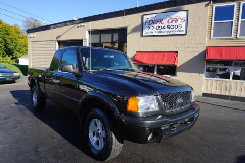 2002 Ford Ranger for sale at I-Deal Cars LLC in York PA