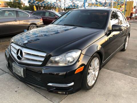 2013 Mercedes-Benz C-Class for sale at Plaza Auto Sales in Los Angeles CA