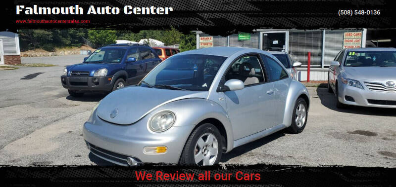2002 Volkswagen New Beetle for sale at Falmouth Auto Center in East Falmouth MA