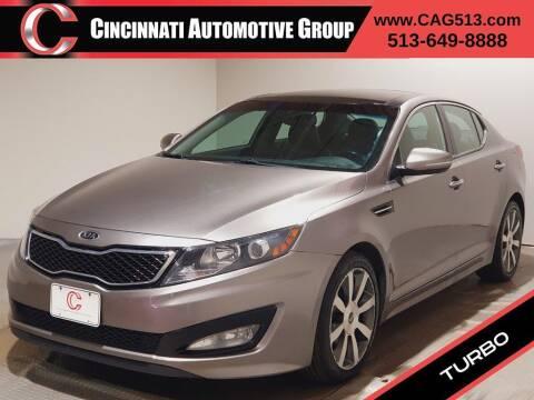 2012 Kia Optima for sale at Cincinnati Automotive Group in Lebanon OH