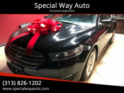 2016 Ford Taurus for sale at Special Way Auto in Hamtramck MI