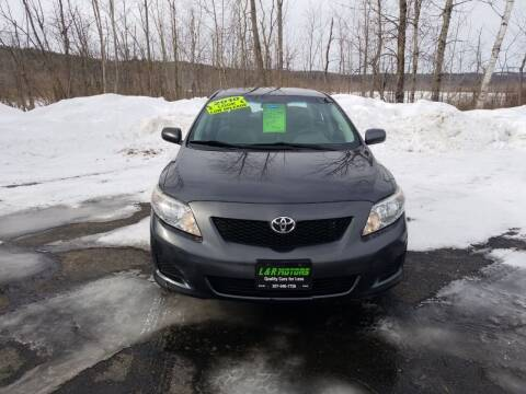2010 Toyota Corolla for sale at L & R Motors in Greene ME
