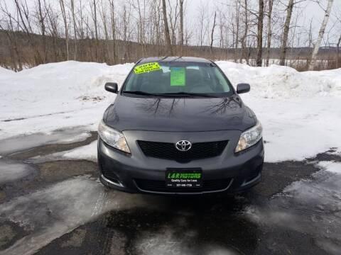 2010 Toyota Corolla for sale at L & R Motors in Greene ME
