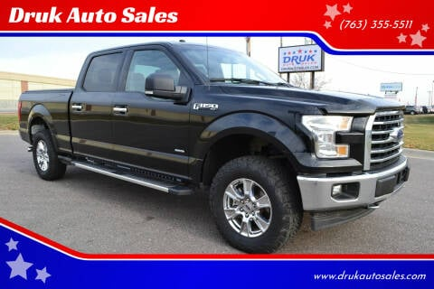2017 Ford F-150 for sale at Druk Auto Sales in Ramsey MN