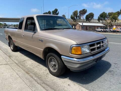 1993 Ford Ranger for sale at Beyer Enterprise in San Ysidro CA