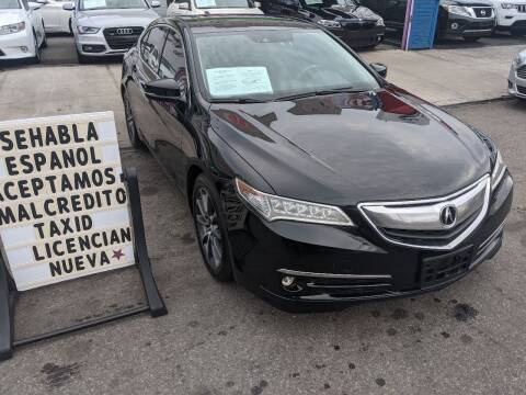 2015 Acura TLX for sale at Cedano Auto Mall Inc in Bronx NY