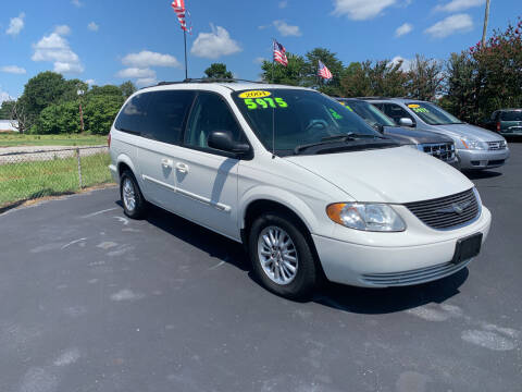 2004 Chrysler Town and Country for sale at Doug White's Auto Wholesale Mart in Newton NC