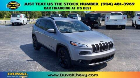 2017 Jeep Cherokee for sale at Duval Chevrolet in Starke FL