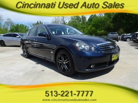 2006 Infiniti M45 for sale at Cincinnati Used Auto Sales in Cincinnati OH