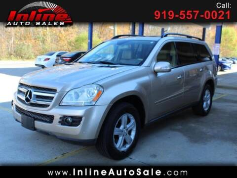 2007 Mercedes-Benz GL-Class for sale at Inline Auto Sales in Fuquay Varina NC