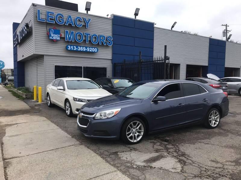 2014 Chevrolet Malibu for sale at Legacy Motors in Detroit MI