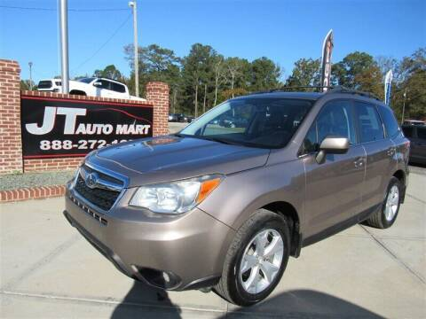 2015 Subaru Forester for sale at J T Auto Group in Sanford NC