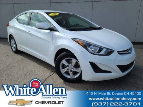 2015 Hyundai Elantra for sale at WHITE-ALLEN CHEVROLET in Dayton OH