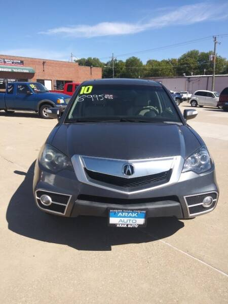 2010 Acura RDX for sale at Arak Auto Brokers in Kankakee IL