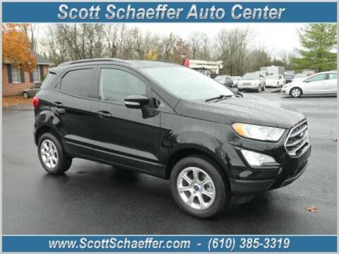 2019 Ford EcoSport for sale at Scott Schaeffer Auto Center in Birdsboro PA
