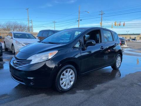 2014 Nissan Versa Note for sale at ENZO AUTO in Parma OH