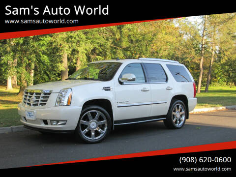 2009 Cadillac Escalade for sale at Sam's Auto World in Roselle NJ