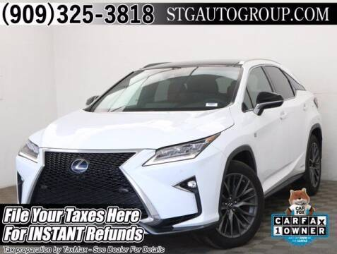 2019 Lexus RX 450h for sale at STG Auto Group in Montclair CA