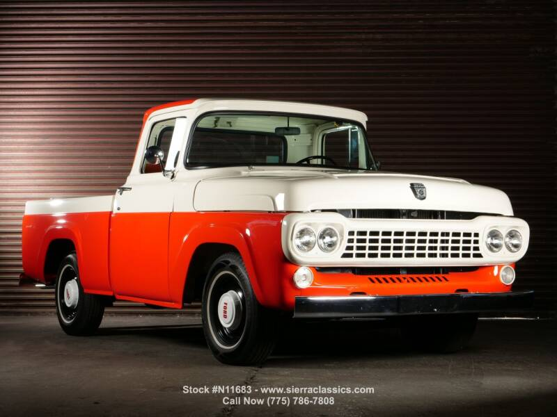 1958 Ford F-100 for sale at Sierra Classics & Imports in Reno NV
