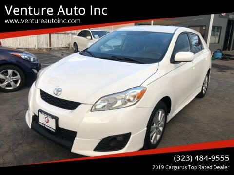2010 Toyota Matrix for sale at Venture Auto Inc in South Gate CA