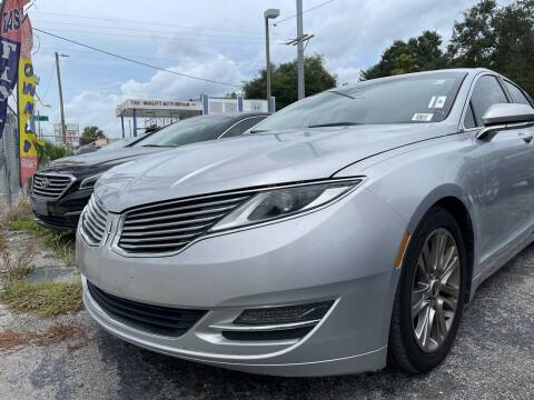 2013 Lincoln MKZ for sale at Always Approved Autos in Tampa FL