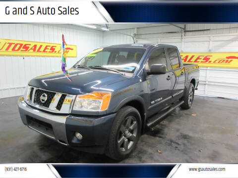 2015 Nissan Titan for sale at G and S Auto Sales in Ardmore TN