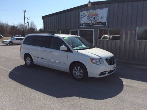 2012 Chrysler Town and Country for sale at KEITH JORDAN'S 10 & UNDER in Lima OH