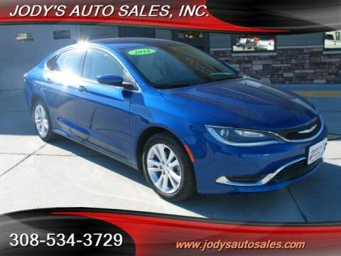 2016 Chrysler 200 for sale at Jody's Auto Sales in North Platte NE