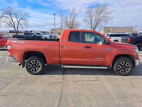 2018 Toyota Tundra for sale at LENZ TRUCK CENTER in Fond Du Lac WI