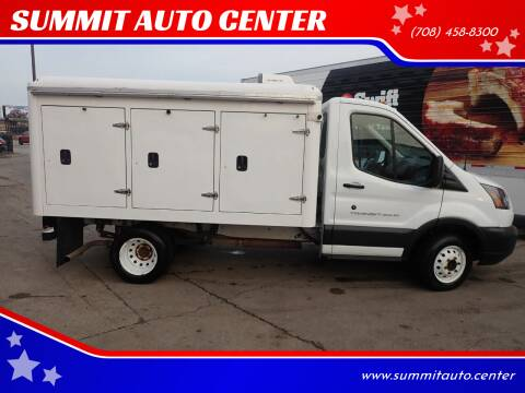 2017 Ford Transit Chassis Cab for sale at SUMMIT AUTO CENTER in Summit IL