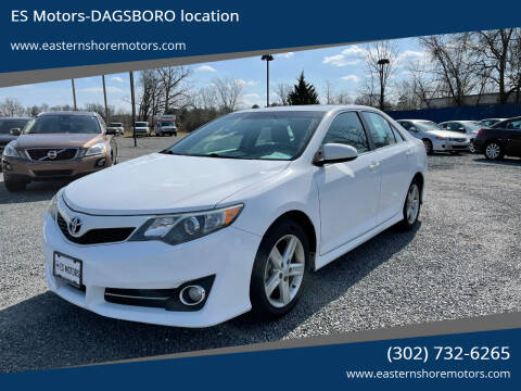 2013 Toyota Camry for sale at ES Motors-DAGSBORO location in Dagsboro DE